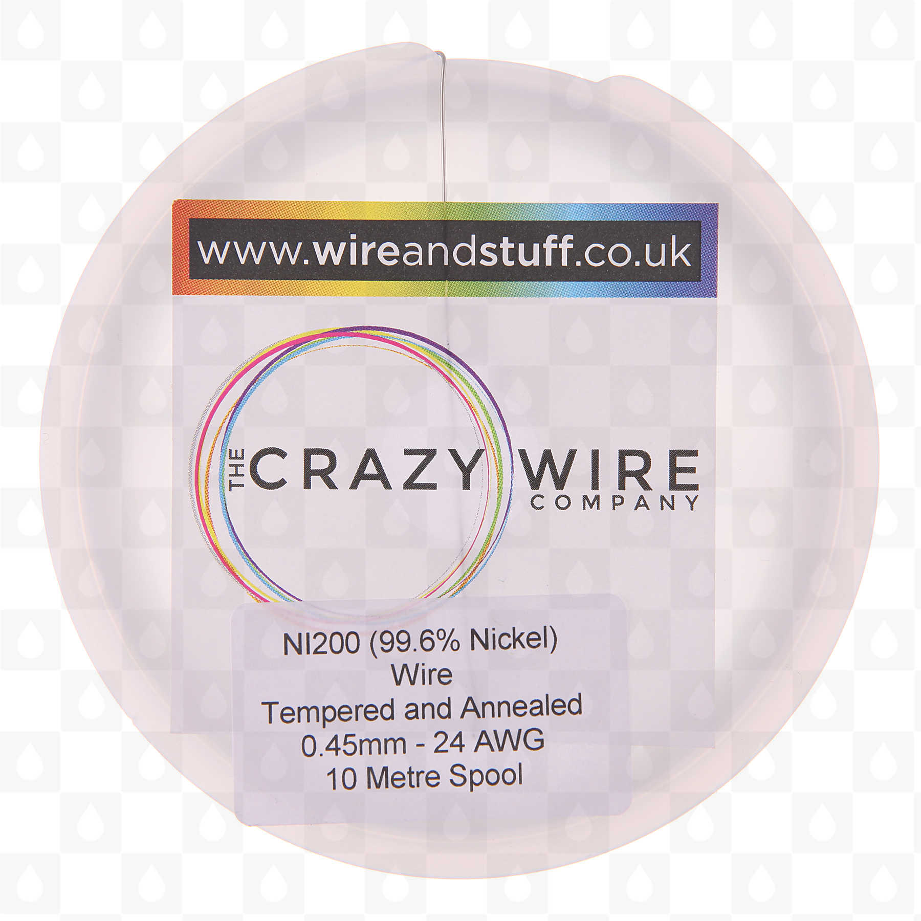 Ni200 heat resistance wire 10 meter spools gauge options uk ni200 heat resistance wire 10 meter spools gauge options uk vape shop redjuice greentooth Image collections