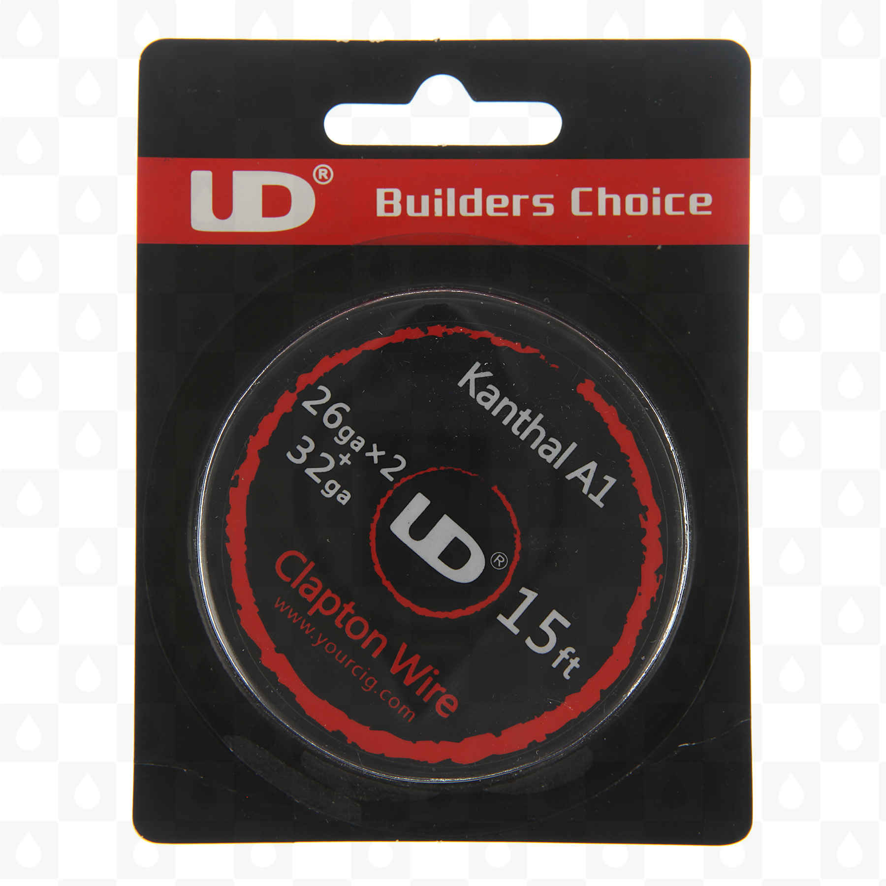 Fused clapton a1 kanthal heat resistance wire 5 meter spools fused clapton a1 kanthal heat resistance wire 5 meter spools gauge options by ud uk vape shop redjuice greentooth Choice Image