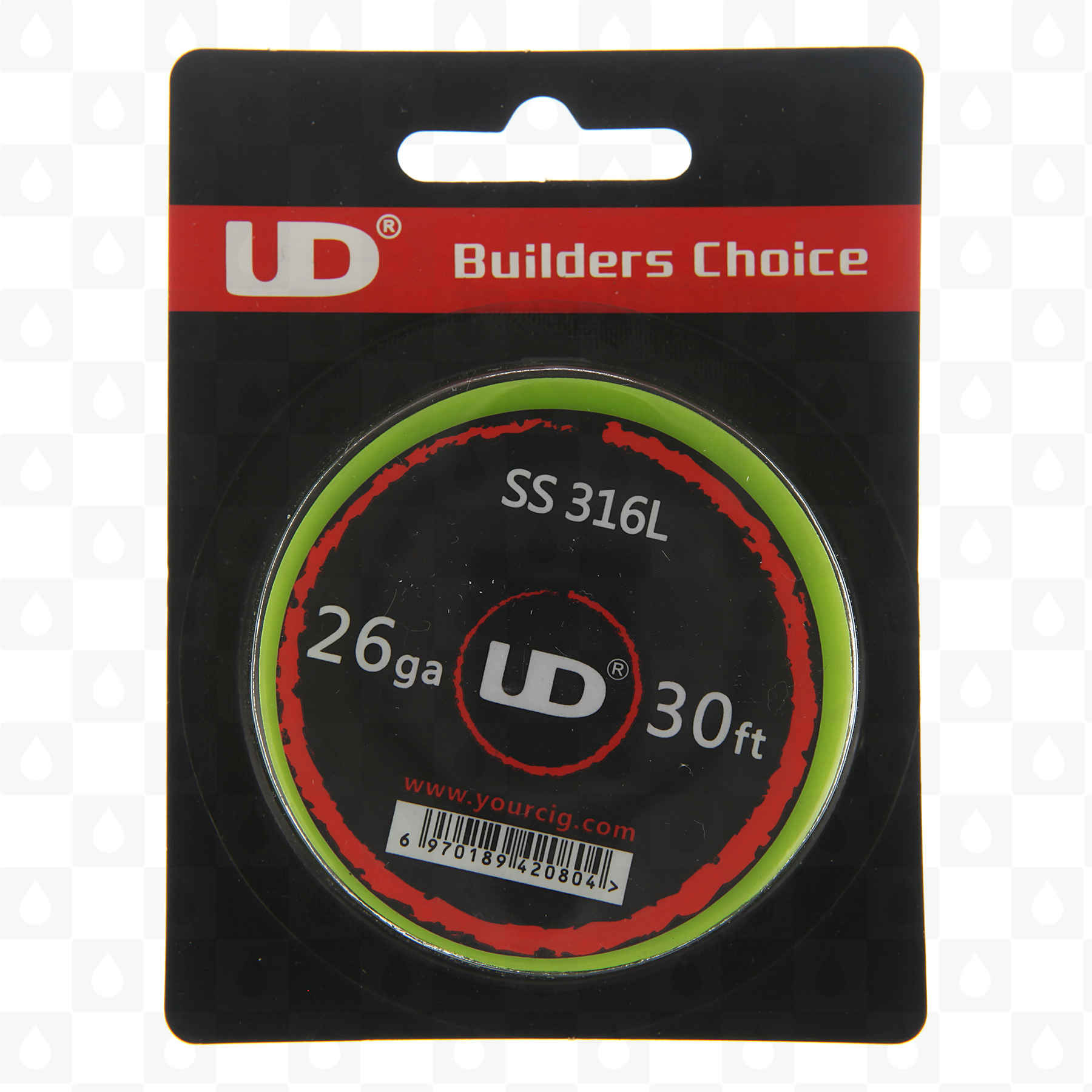 Ss316l heat resistance wire 10 meter spools gauge options by ud ss316l heat resistance wire 10 meter spools gauge options by ud uk vape shop redjuice keyboard keysfo Choice Image