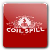 Coil Spill E-Liquid Logo