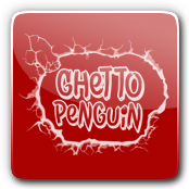 Ghetto Penguin E-Liquid Logo