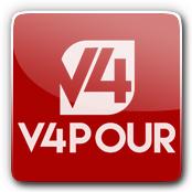 V4 V4pour E-Liquid Logo