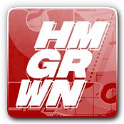 HMGRWN E-Juice Logo