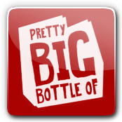 Pretty Big Bottle E-Liquid Logo