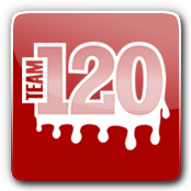 Team 120 E-Liquid Logo