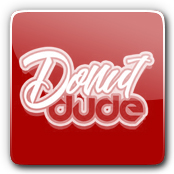Donut Dude E-Liquid Logo