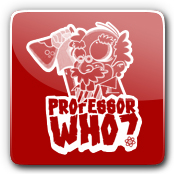 Professor Who E-Liquid Logo