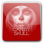 Candy Skull E-Liquid Logo