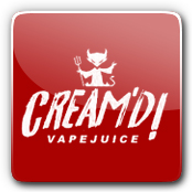Cream'd! Vape Juice E-Liquid Logo