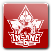 Insane 6 E-Liquid Logo