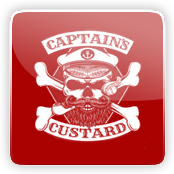 Captain's Custard E-Liquid Logo