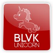 BLVK Unicorn E-Liquid Logo
