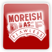 Moreish as Flawless E-Liquid Logo