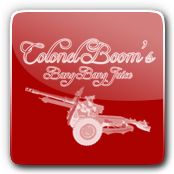 Colonel Booms E-Liquid Logo