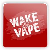 Wake & Vape E-Liquid Logo