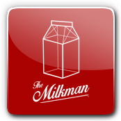The Milkman E-Liquid Logo