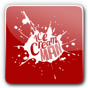 Ice Cream Man Logo