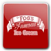 Dr. Fog's Famous Ice Cream Logo