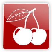Black cherry Flavour E-Liquid Logo