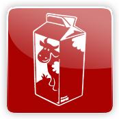 Milk Flavour E-Liquid Logo