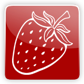 Strawberry Flavour E-Liquid Logo