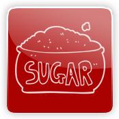 Sugar Flavour E-Liquid Logo