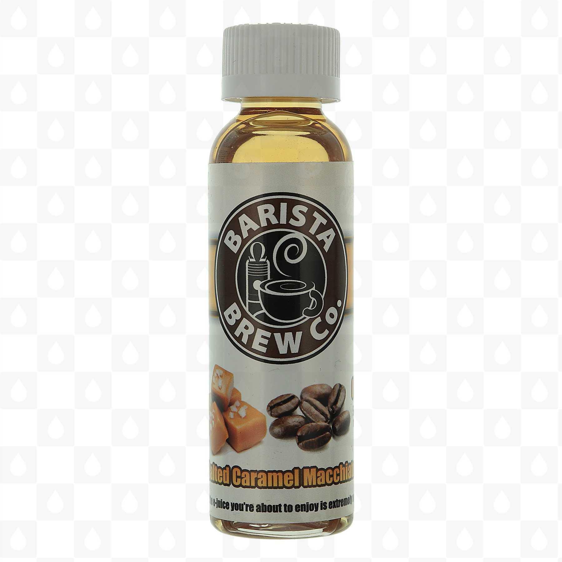Salted Caramel Macchiato by Barista Brew Co E Liquid | 50ml Short Fill