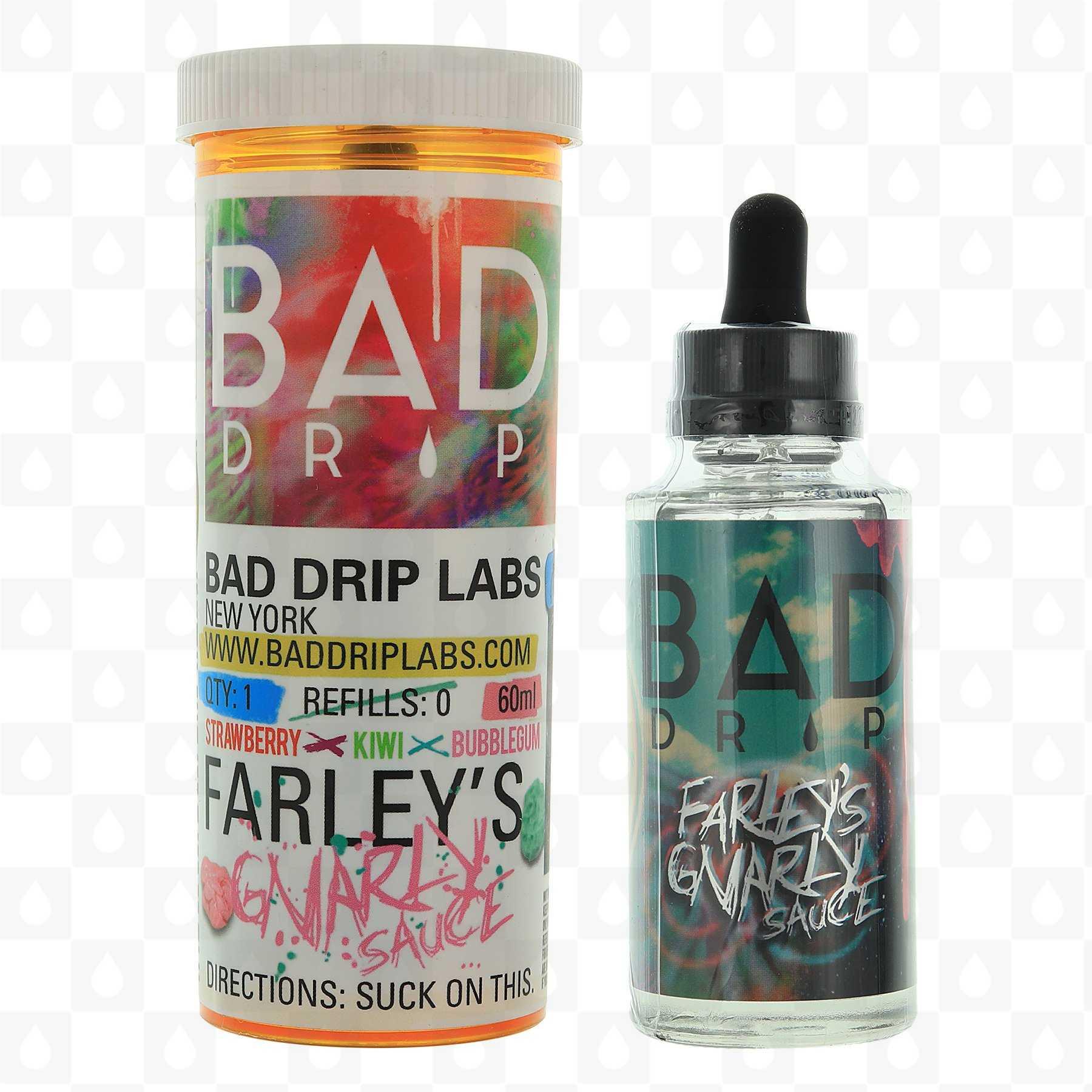 Farley's Gnarly Sauce by Bad Drip E Liquid | 50ml Short Fill