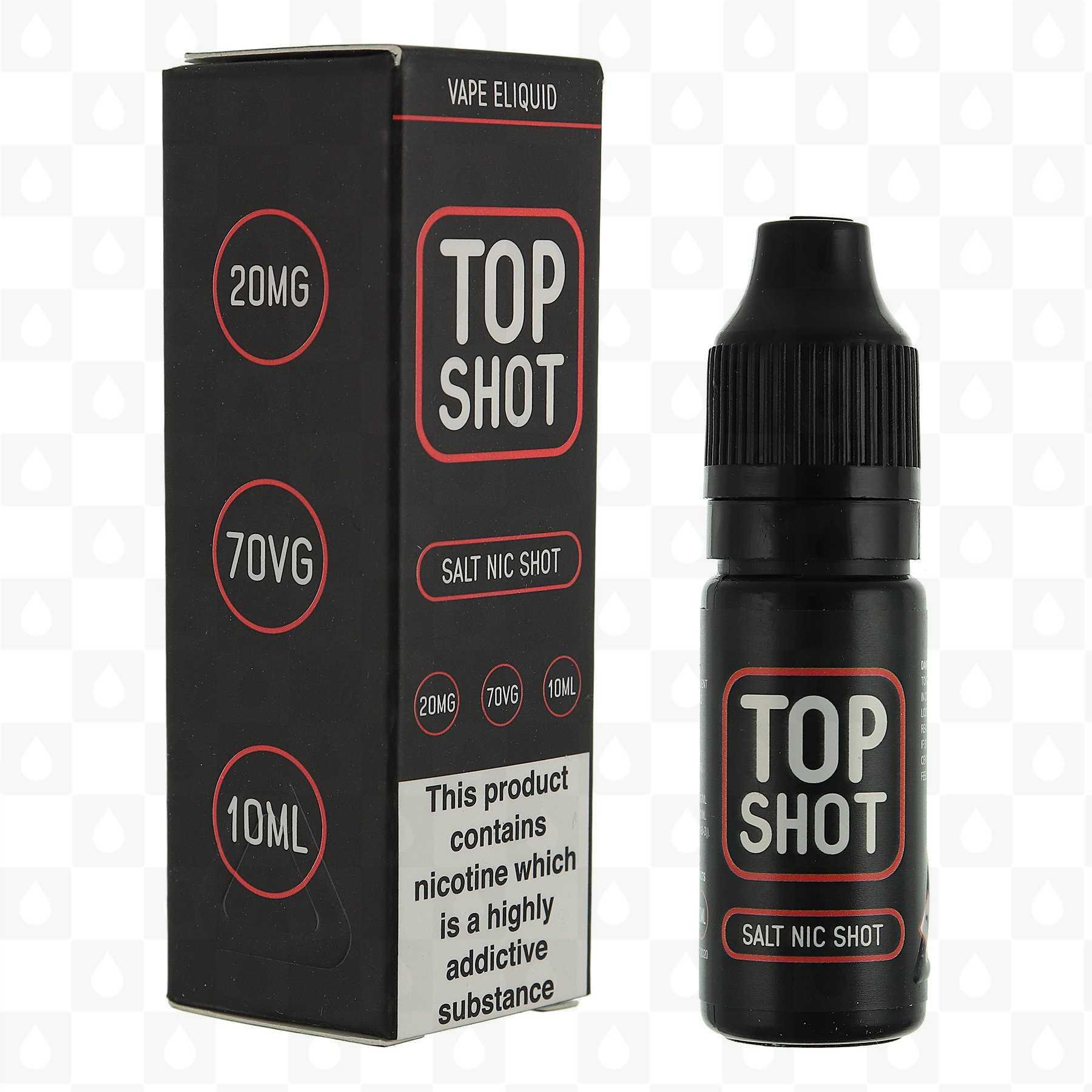 Nic Salt Shot by Top Shots Salts E Liquid | 10ml Nicotine Shot