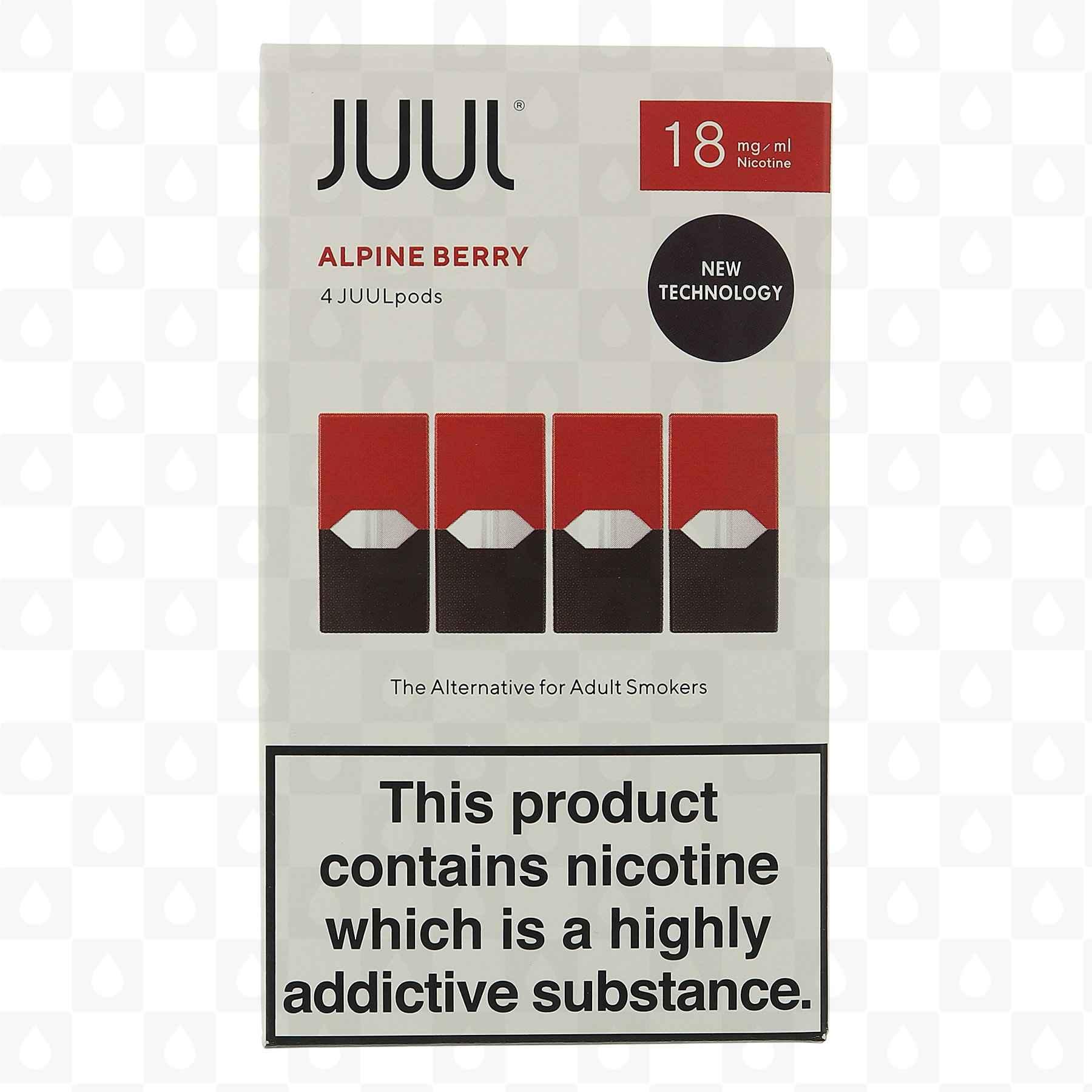 JUUL Alpine Berry Replacement Pods