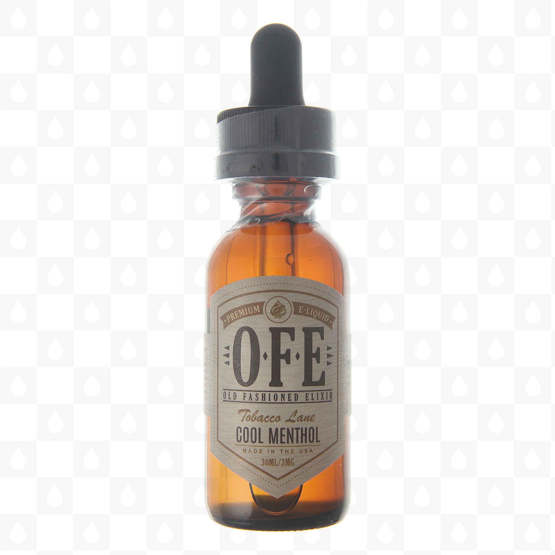 Old Fashioned Elixir Cool Menthol